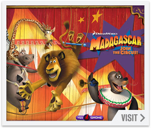 Social game development - Madagascar3JoinThe Circus