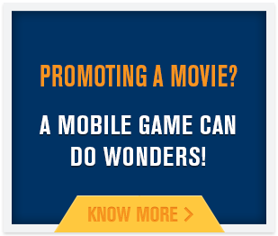 Mobile Game developer for movie promotion